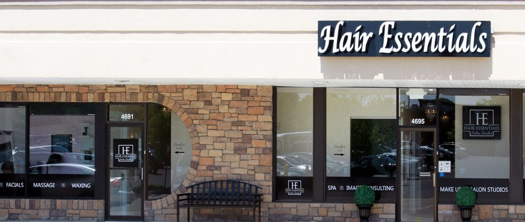 Different type of hair salon services