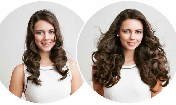 Get Long Locks Overnight With Clip in Human Hair Extensions