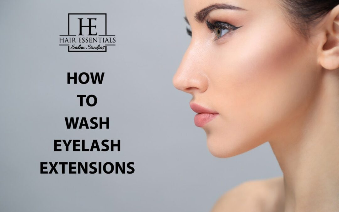 How to Wash Eyelash Extensions